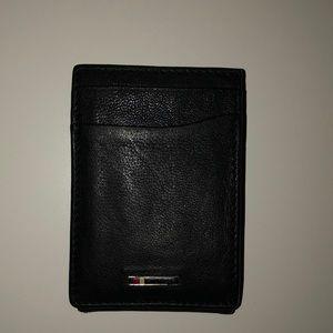 Black Leather Tommy Hilfiger Wallet